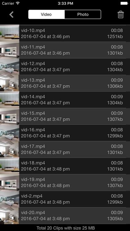 Motion Detector Camera screenshot-4
