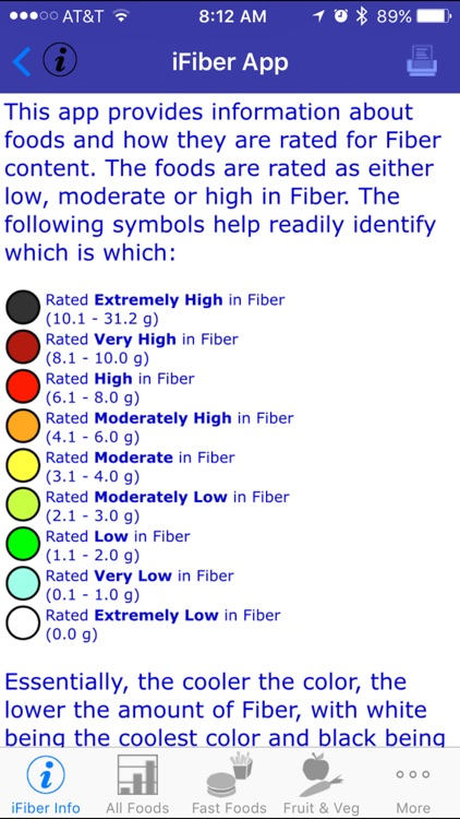 iFiber - iNutrient: Fiber screenshot-1