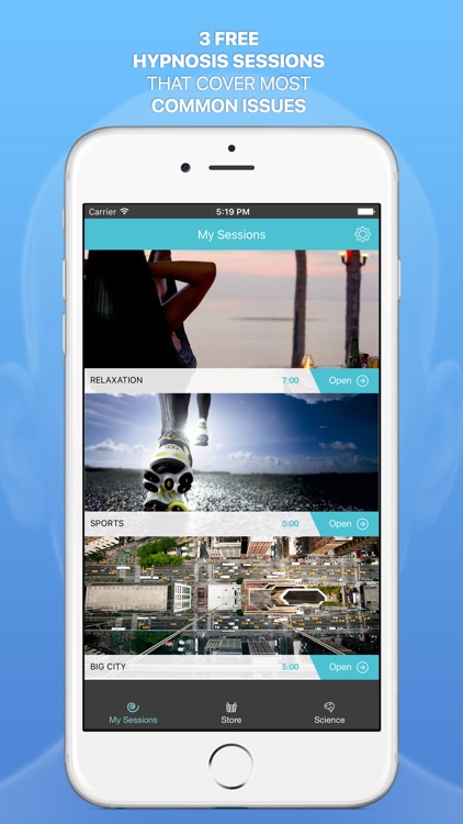 Hypnomatic — hypnosis in your cellphone