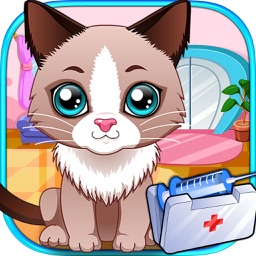 Pet Vet Clinic - Baby Pet Simulator, Hospital & Clinic, Doctor Free Game for kids