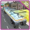 3D转运卡车的海洋动物 - 终极驾驶和停车模拟器游戏