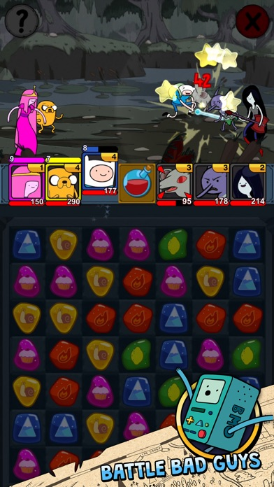 Puzzle Quest phone App screenshot 2