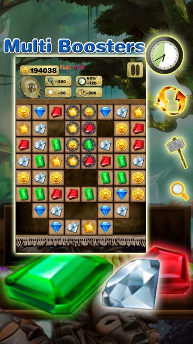 Gem Quest - Jewel Games Puzzle screenshot three