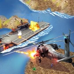 Sniper Gunship War 3D:Free airplane gun shooting games