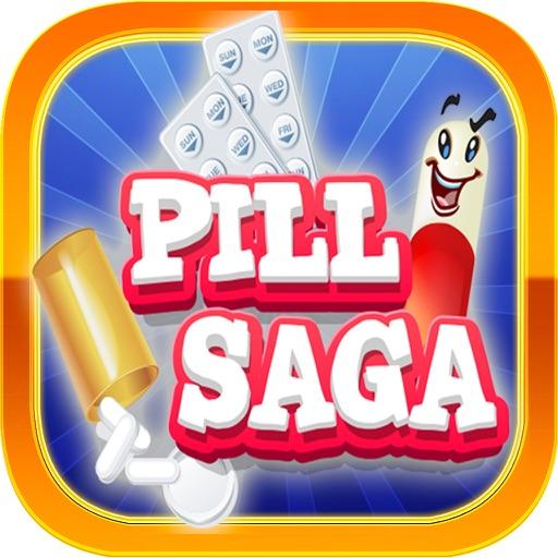 Pill Saga - Pill Strategy Game – Swipe and Match Pills
