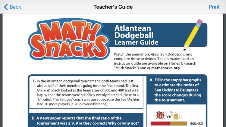 Math Snacks Video