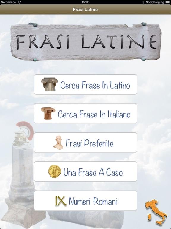 Frasi Latine La Frase In Latino Giusta Per Ogni Occasione App Price