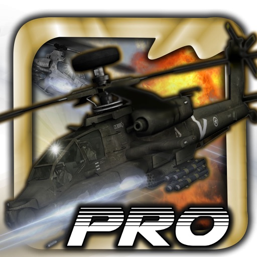 Amazing War Helicopter Pro - Flaying Strike Race Skills icon