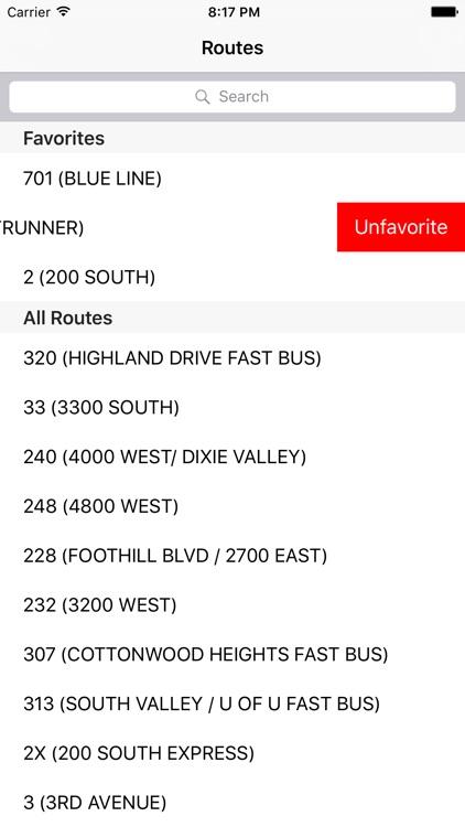Utah Transit Tracker (Bus & Rail) screenshot-3