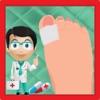 公主脚趾手术 - 疯狂的医生护理足部外科医生游戏的孩子