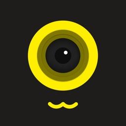 贴纸相机--制作贴纸头像表情图片可分享到微信、QQ、微博等社交平台