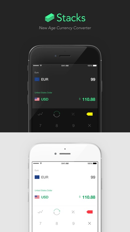 Stacks 2 - New Age Currency Converter