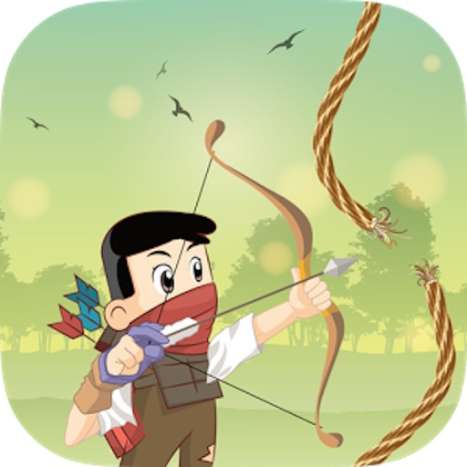 Cut the Gibbet Rope : Angry Archer Hero