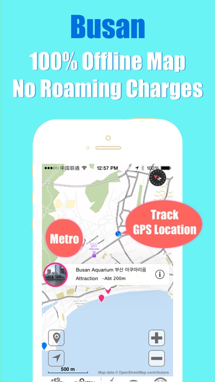 Busan travel guide with offline map and Busan Seoul BTC metro underground transit by BeetleTrip screenshot-3