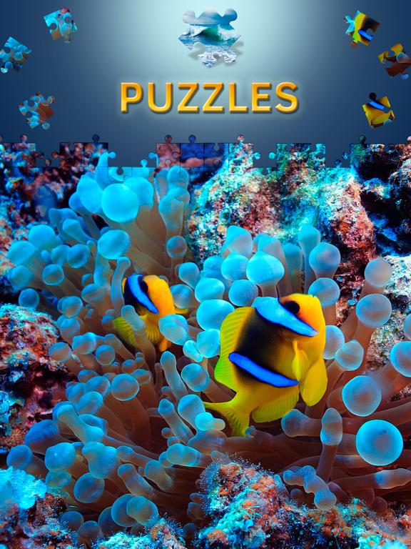 Пазлы море и подводный мир для взрослых для iPad