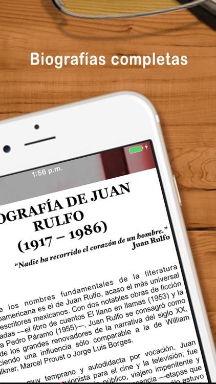 Colección: Escritores Mexicanos screenshot-4