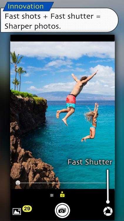 Fast Camera + Fast Shutter