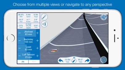 North U Sailing Trim Simulator - Virtual, Sailor, Wind, Navigation, Regatta screenshot four