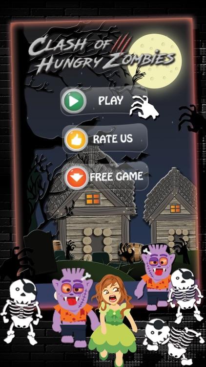 Clash of Hungry Zombies screenshot-4