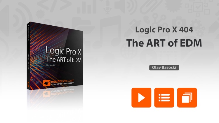 The ART of EDM in Logic Pro X