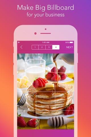Griddy Pro - Split Pic in Grids For Instagram Post screenshot 2