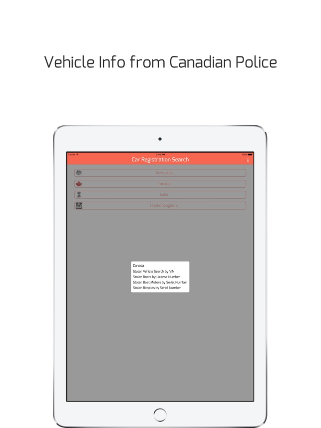 Car Registration Search - Detailed vehicle info on the App Store