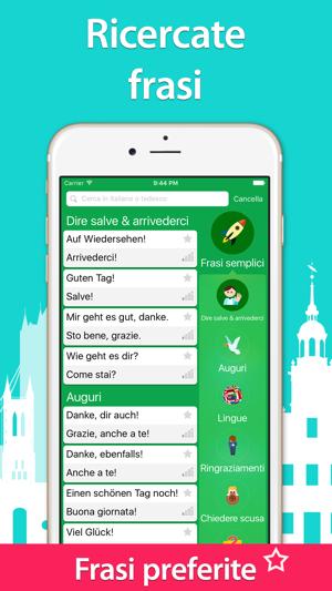 5000 Frasi Impara Con Frasario Tedesco Gratis Su App Store
