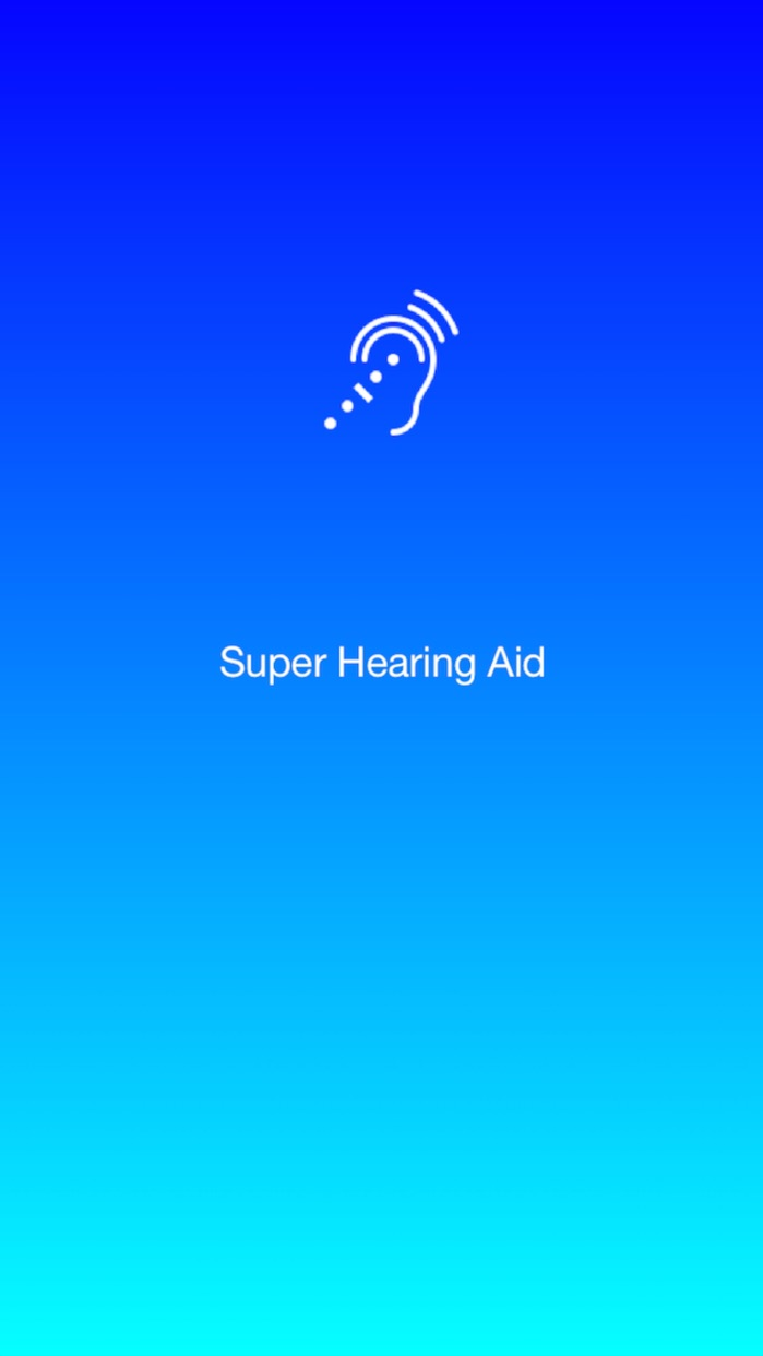 Super Hearing Aid - audio enhancer Screenshot