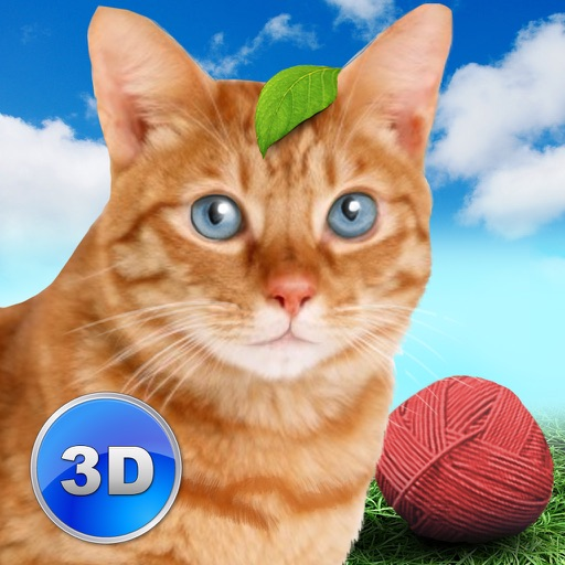 Cat Simulator: Cute Pet 3D Full - Be a kitten, tease a dog!
