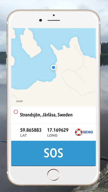 Sea rescue - Call for help at sea with your gps location screenshot-3
