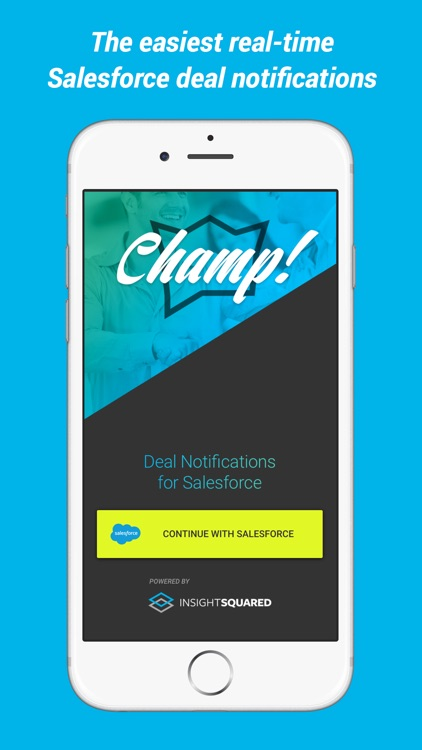 Champ - Salesforce Deal Alerts in Real-Time for Your Whole Team