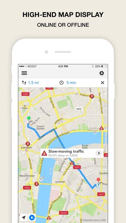 Scout Navigation & Maps (INT) screenshot-3