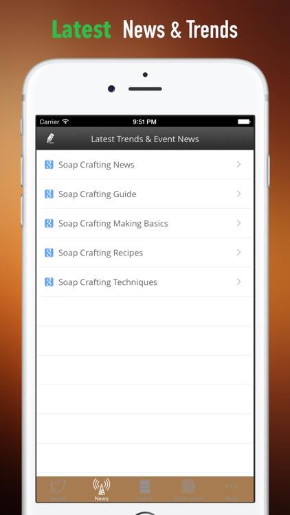 Soap Crafting:Making Basics and Recipes,Techniques screenshot-3