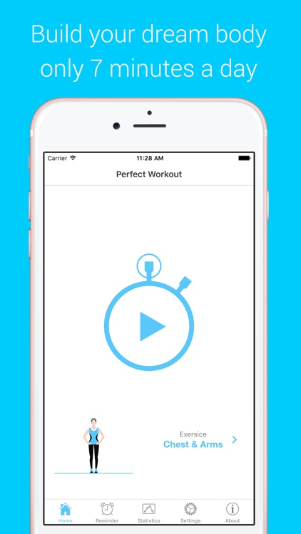 Chest & Arms Workout - Your Personal Fitness Trainer to pump pecs muscles