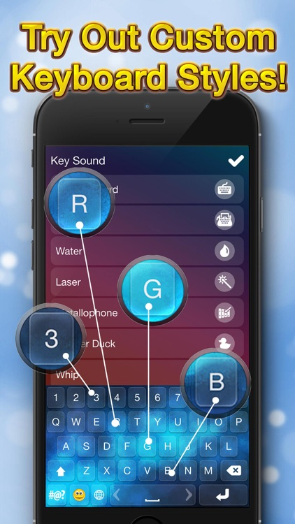 Ultimate Keyboard Themes – Customize Cool Key.boards with Color Text Fonts for iPhone screenshot-4