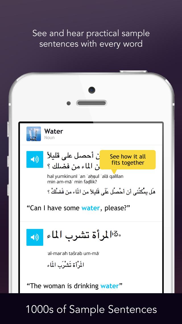 Learn Arabic - Free WordPower screenshot four