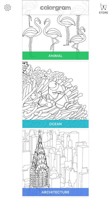 Coloring book : Colorgram screenshot-3