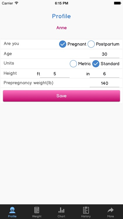 Perfect Pregnancy and Postpartum Pounds screenshot-3