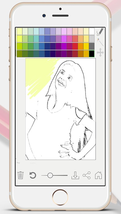 Sketch Photo Effect editor to color your images - Premium screenshot four