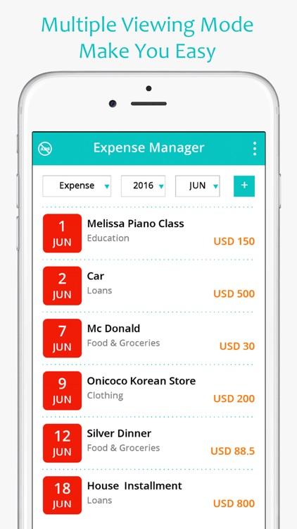 money expense manager spending saving planner by zinitt