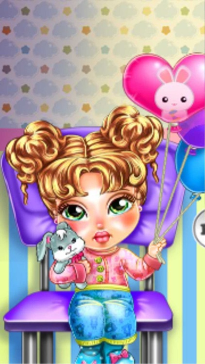 Take care of baby fever:queen Girls Makeup Dressup campus Stylish grow
