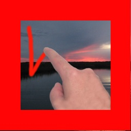 Write On Picture - Use your finger and your own handwriting to draw on any photo!