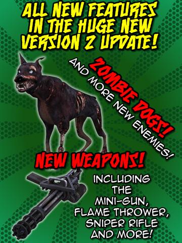 Creeper Craft Defense 3D - Free Pixel Zombie Apocalypse Survival Challenge screenshot