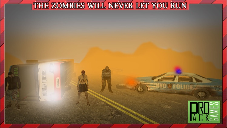 Driving Passengers Bus at Zombie Town Cockpit View – Creepy Highway Apocalypse City screenshot-3