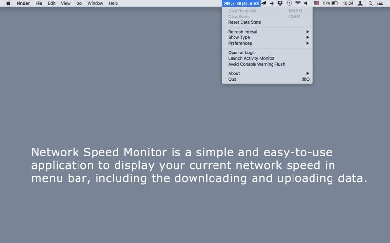 Network Speed Monitor Screenshots