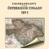 Австро-Венгрия (1911). Историческая карта.