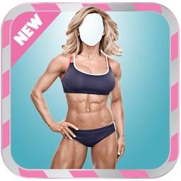 Fitness Girl  Body Photo montage App