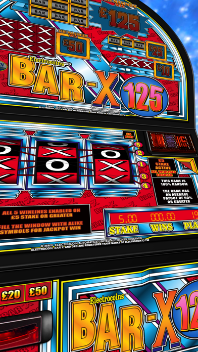 BAR-X Card Crazy - The Real Arcade Fruit Machine Collection screenshot one