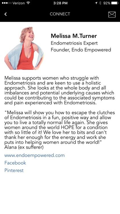 Endo Empowered by Melissa M. Turner screenshot-3