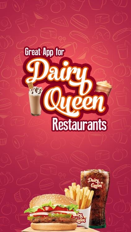 Great App for Dairy Queen Restaurants